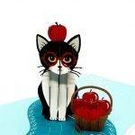 Cute Kitten Pop Up Card